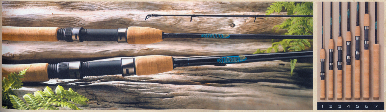 St.Croix: Premier Spinning Rods