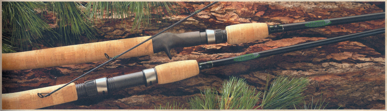 St.Croix: Wild River Spinning Rods