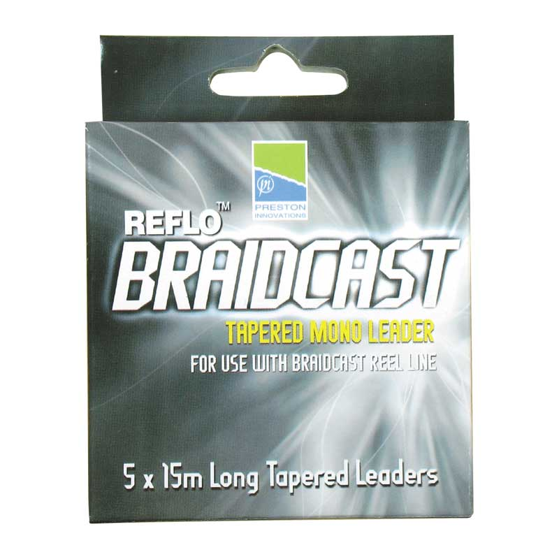 Reflo Braidcast - Tapered Mono Leader