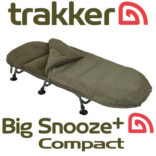 Trakker Big Snooze + Compact Sleeping Bag