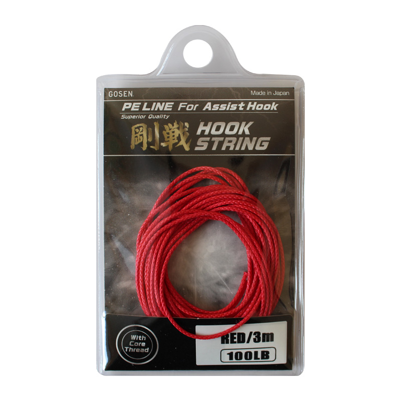 Gosen Hook String Red