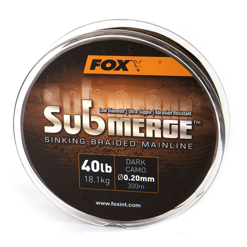 Плетено влакно Fox Submerge Braid Dark Camo