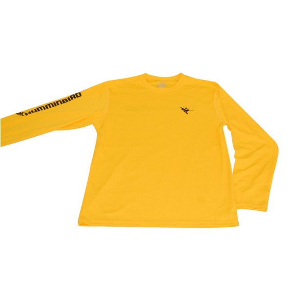Блуза Humminbird Long Sleeve Performance Tee-Gold