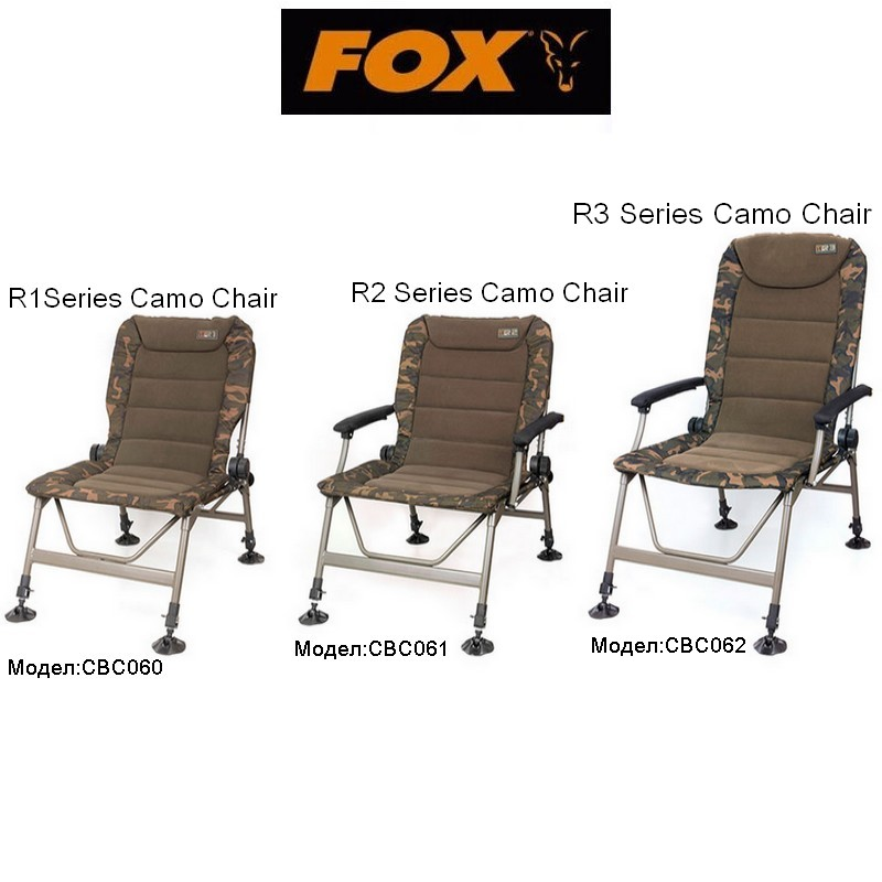 Серия Столове FOX R-Series camo chair