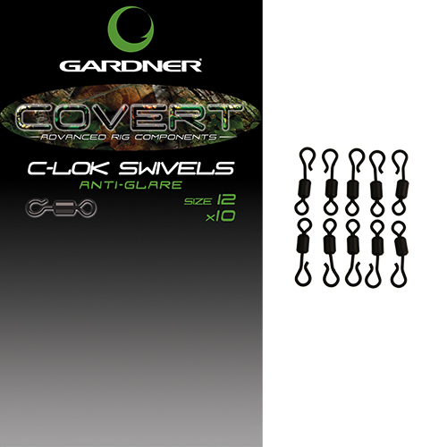 Gardner Covert C-lok Swivels