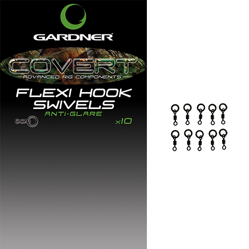 Gardner Covert Flexi Hook Swivels