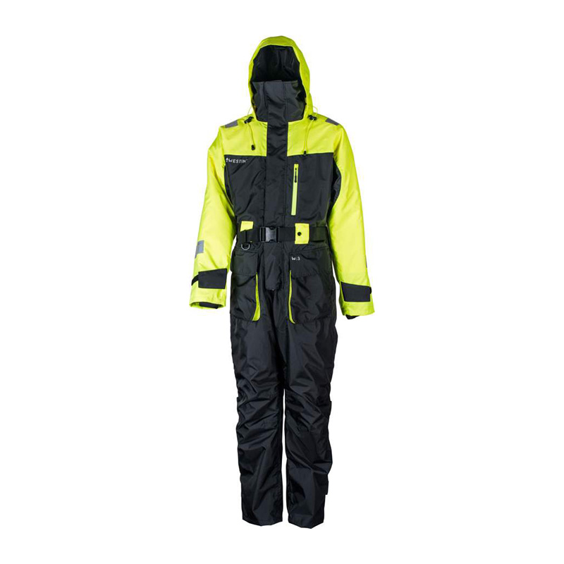 Водоустойчив костюм Westin - W3 Flotation Suit Jet Black Lemon