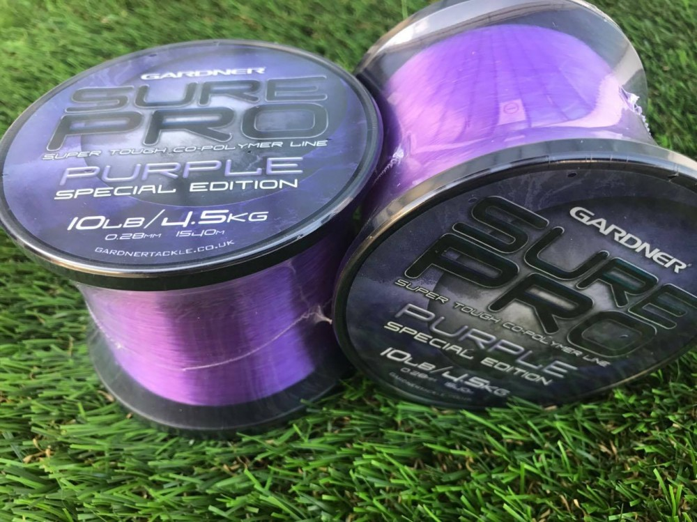 Монофилно влакно Gardner Sure Pro Purple Special Edition