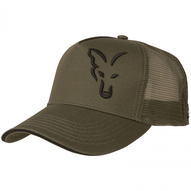 Шапка с козирка Fox Green and Black Trucker Cap