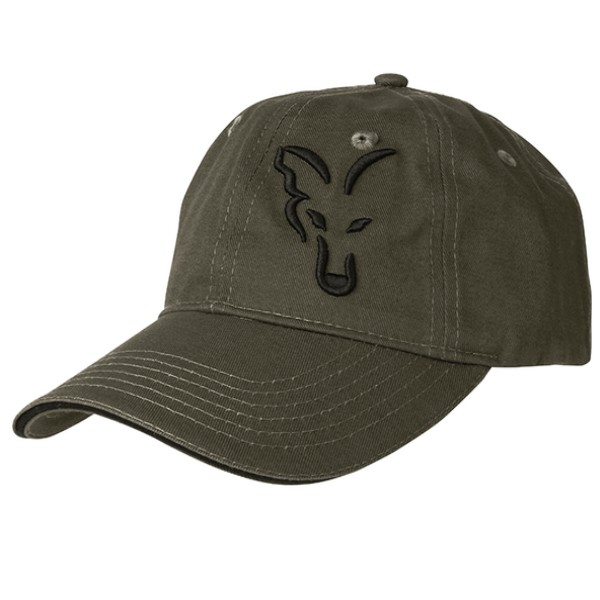 Рибарска Шапка Fox Green and Black Baseball Cap