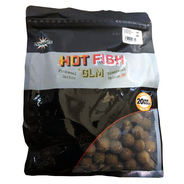 Протеинови топчета DB Hot Fish & GLM Boilies
