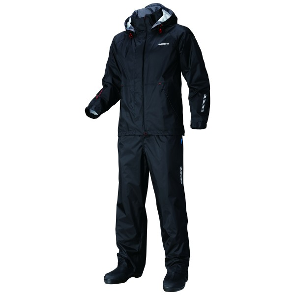 Комплект яке и панталон Shimano DRYSHIELD Basic Suit Black