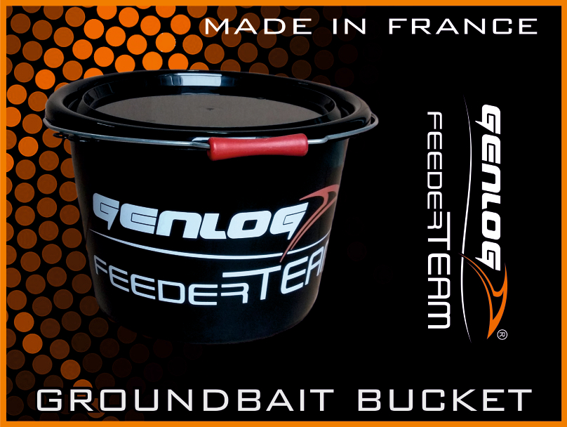 Кофа GENLOG Groundbait Bucket Feeder Team