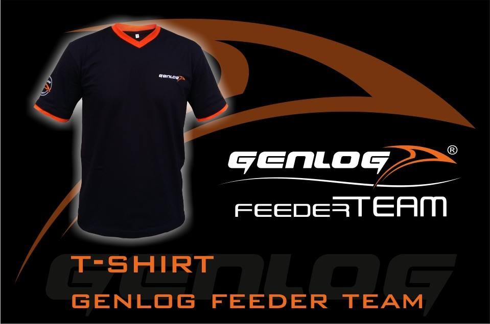 Тениска T-Shirt Genlog Feeder Team