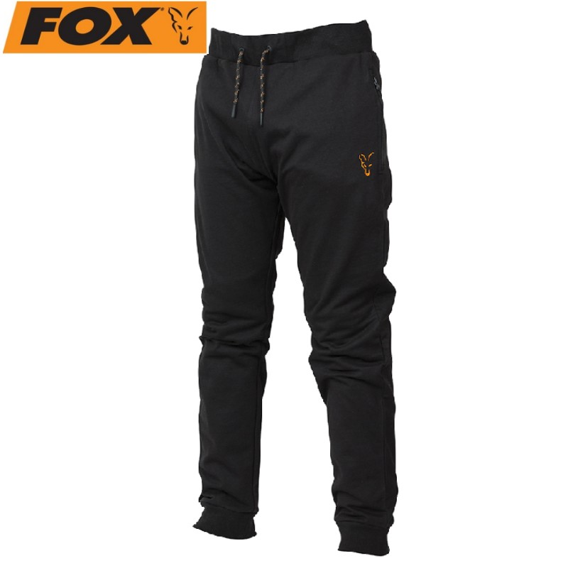 Спортно долнище Fox Black Orange Lightweight jogger