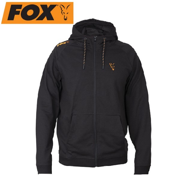 Суичър Fox Black Orange LW Hoodie