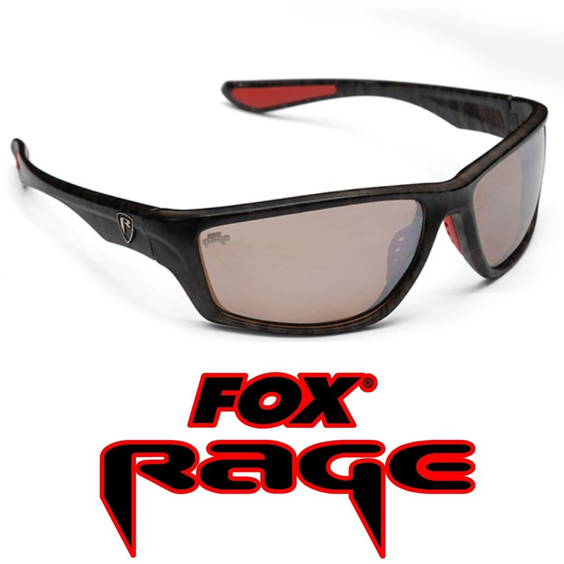 Fox Rage Frame Brown Lens Mirror