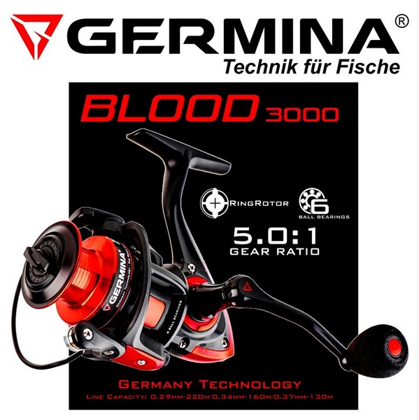 Макара GERMINA Rell Blood 3000