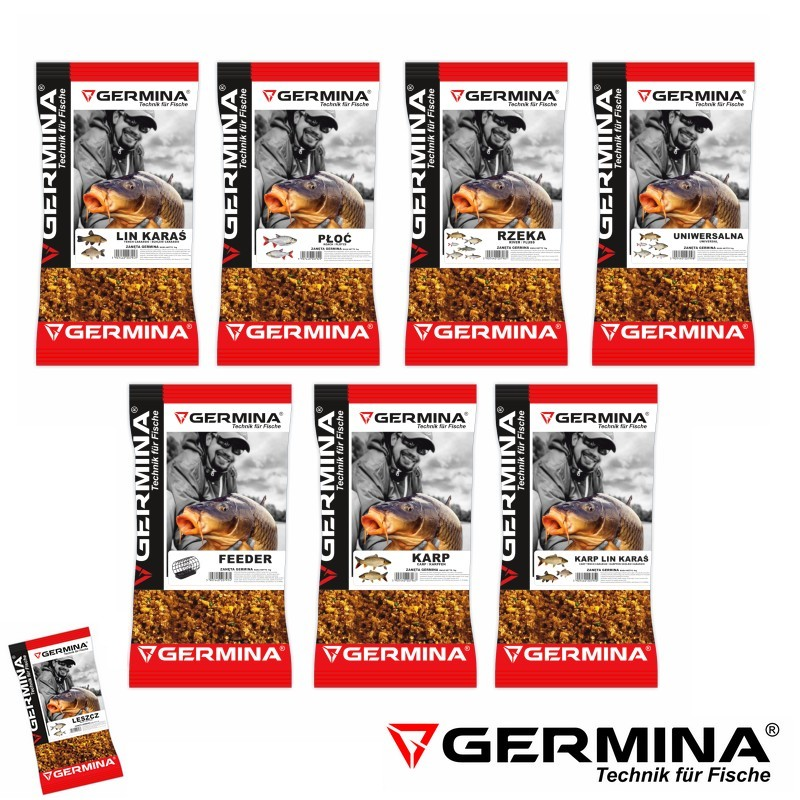 Серия Захранки Germina Groundbaits