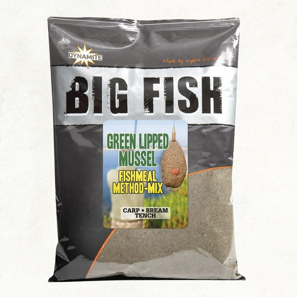 Захранка DB Big Fish - Green Lipped Mussel Method Mix